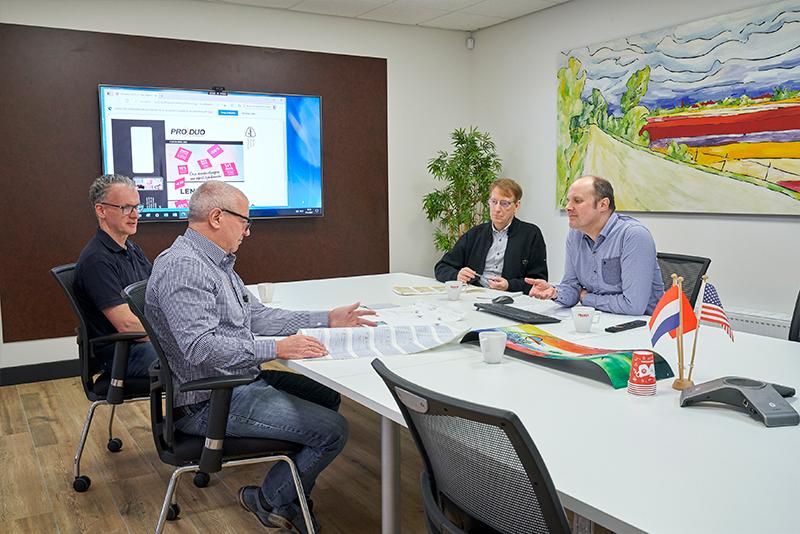 Productieoverleg Drukkerij Profix | Dasa Group